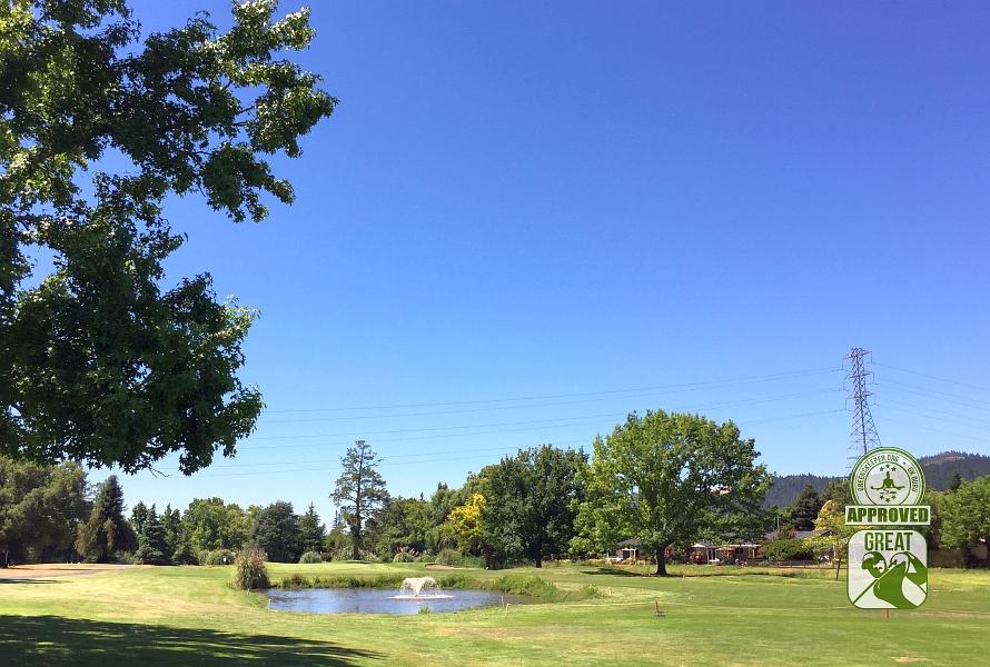 Oakmont Golf Club WEST Santa Rosa California Hole 17