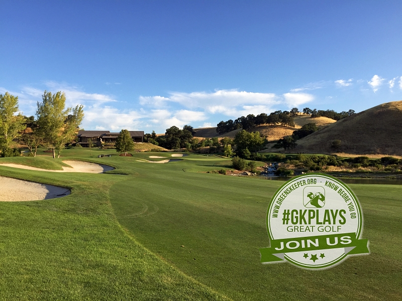 Yocha Dehe Golf Club Brooks CA Hole 18