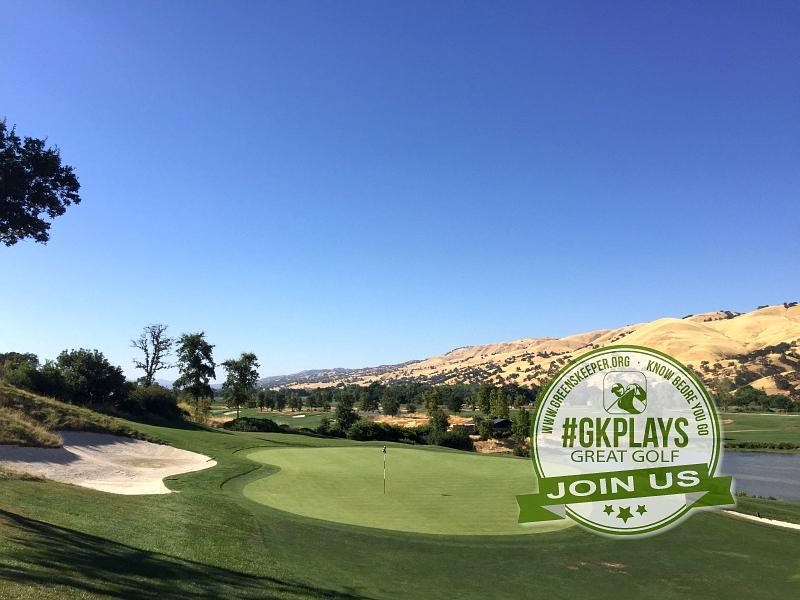 Yocha Dehe Golf Club Brooks CA Hole 9