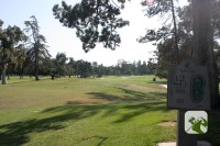 Santa Anita Golf Course Arcadia CA Hole 12