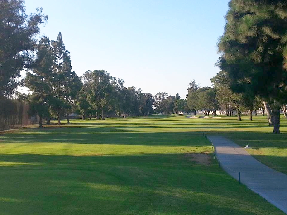 Los Amigos Golf Club Downey California Hole 15