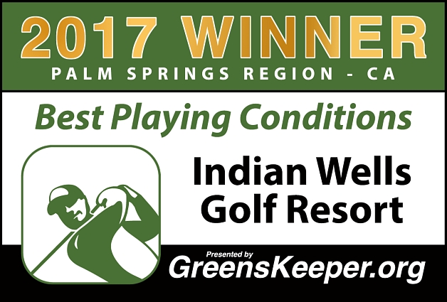 Best Playing Conditions 2017 Indian Wells Golf Resort - Palm Springs Region
