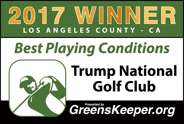 Best Playing Conditions 2017 Trump National Golf Club - Los Angeles County