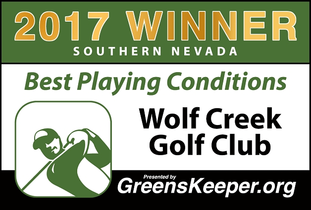 Best Playing Conditions 2017 Wolf Creek Golf Club - Southern Nevada