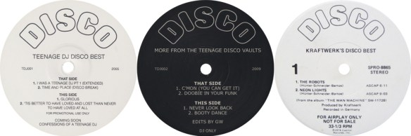 TEENAGE DJ EP's & KRAFTWERK'S DISCO BEST