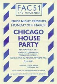 Hacienda Chicago House Party 1987