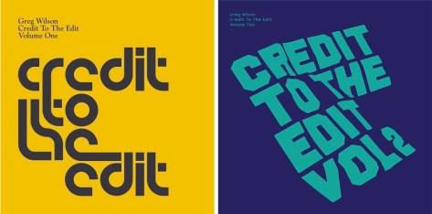 Credit To The Edits Vols 1 & 2