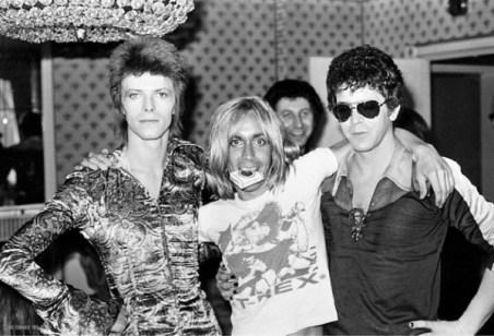 Bowie, Pop, Reed, DeFries