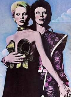 David & Angie Bowie