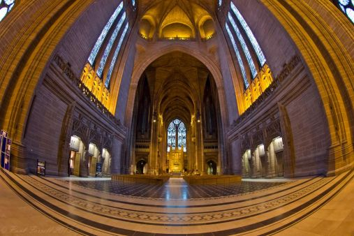 Liverpool Anglican Cathedral interior