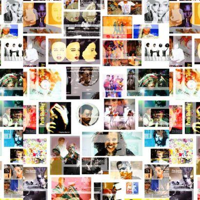 Island Records Collage