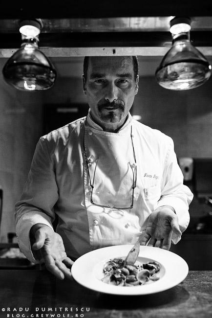 portret chef Marco Magri - restaurant Roberto's - Athenee Palace Hilton - foto Radu Dumitrescu