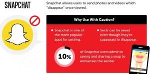 Dangerous application Snapchat