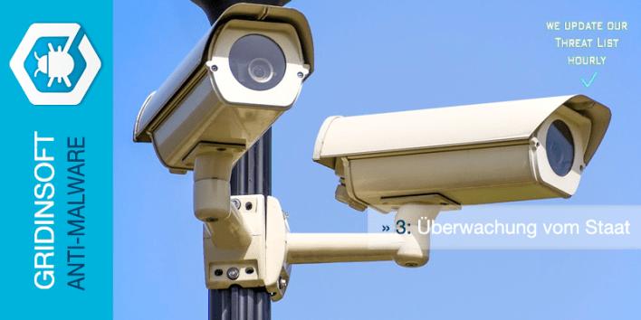 Überwachung vom Staat