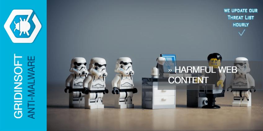 Harmful Web Content
