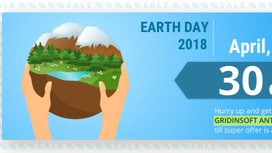 Photo of Happy Earth Day from GridinSoft!