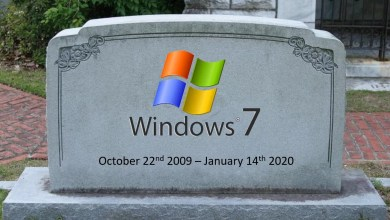 Farewell Windows 7 updates