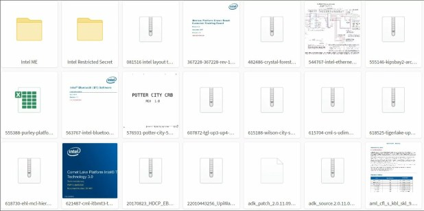 Intel investigates data leak