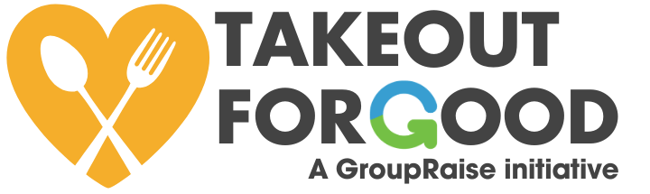 Takeout for Good logo - a Takeout Tuesday for restaurants and food banks