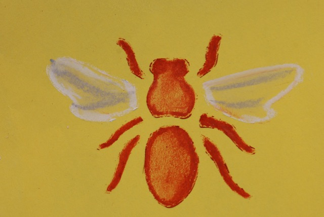 finished-bee-stencil
