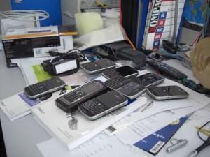 Welches Telefon nehm ich denn heute mit…?