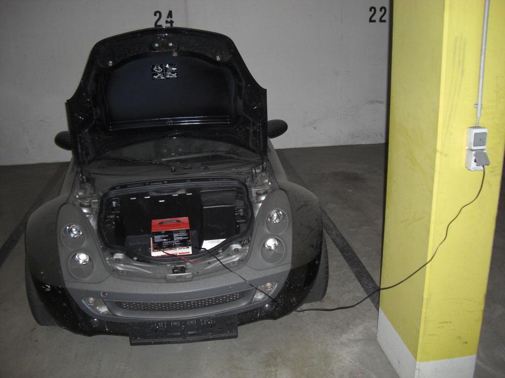 Der Elektro-Smart-Roadster