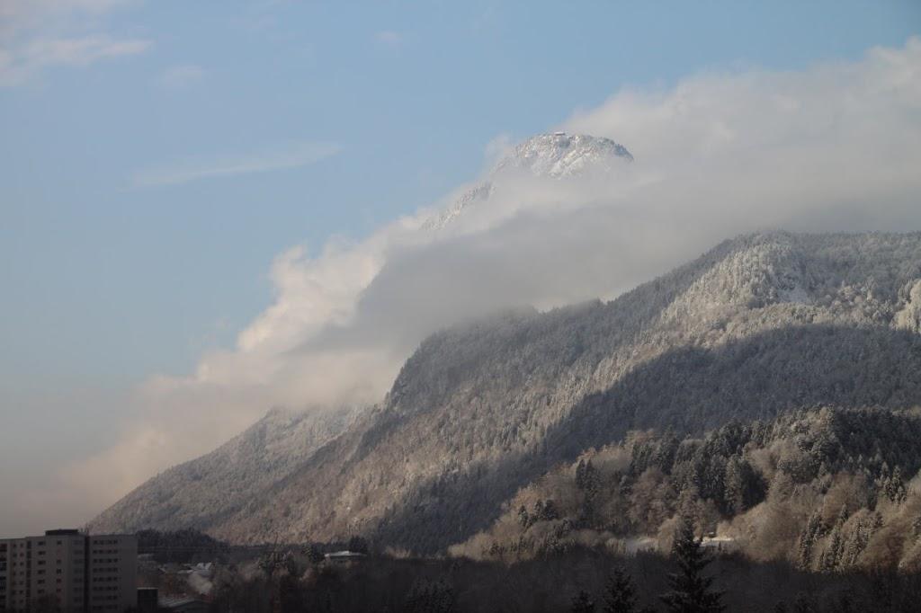 Ein erster Vorgeschmack auf den Winter in Tirol