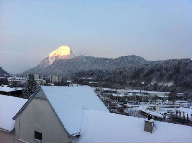 Sonnenaufgang am Pendling