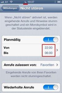 """Mein IPhone hat einen 2013-Bug! """"Nicht stören"""" Funktion defekt."""