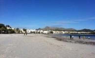 Mallorca / Alcudia - Sturmböen und Rückenwind