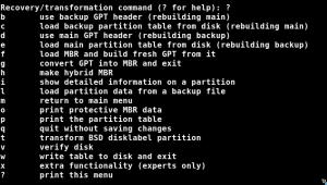 Linux – GPT nach MBR umwandeln