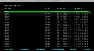 Vergessenen Veeam Restore Point aushängen (Linux/cli)