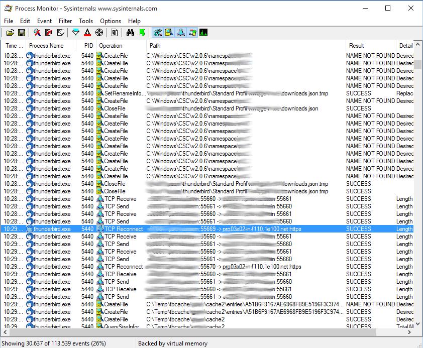 Thunderbird Bug, verzögertes öffnen von PDF's