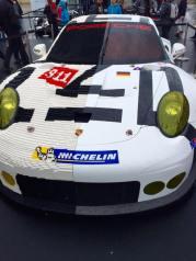 Capot Légo avec Porsche