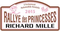 Plaque Rallye des princesses 2015