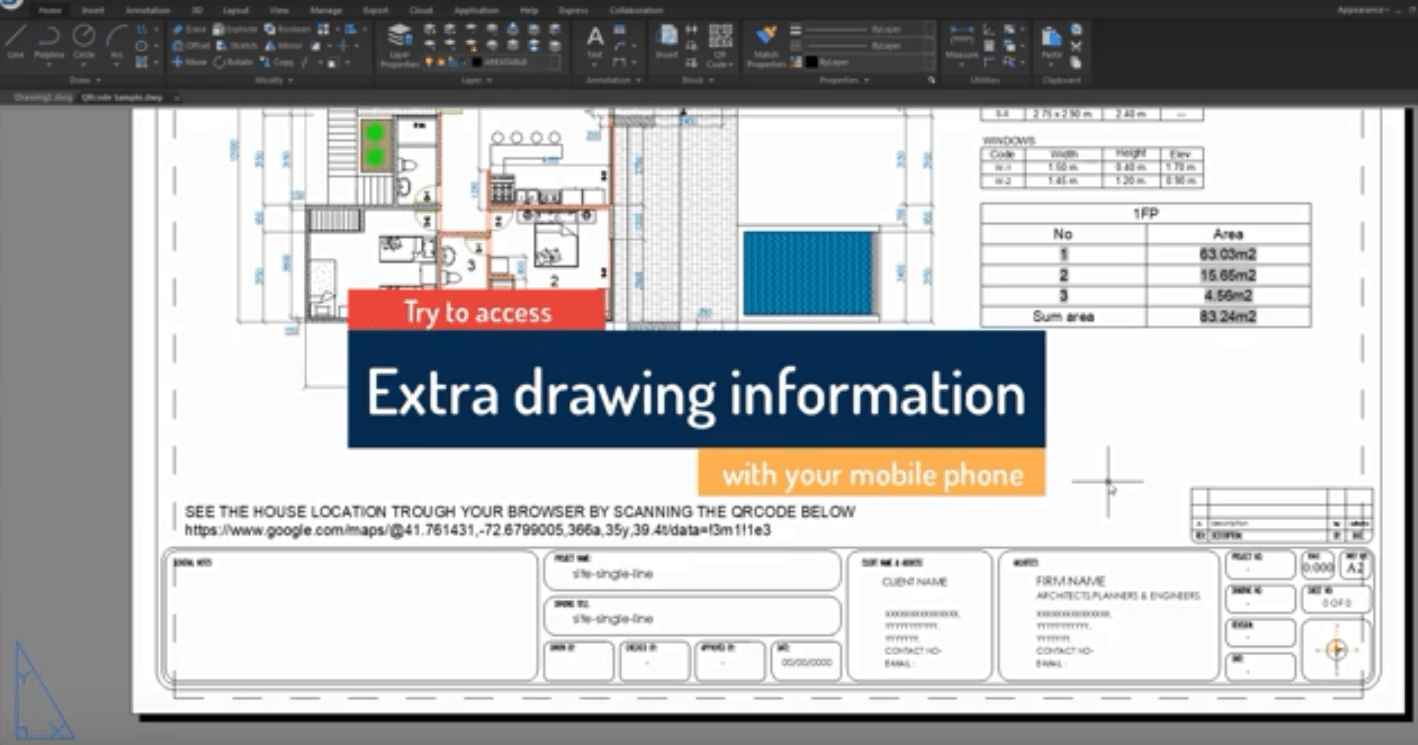 Introduction to GstarCAD Express Tool: QR Code