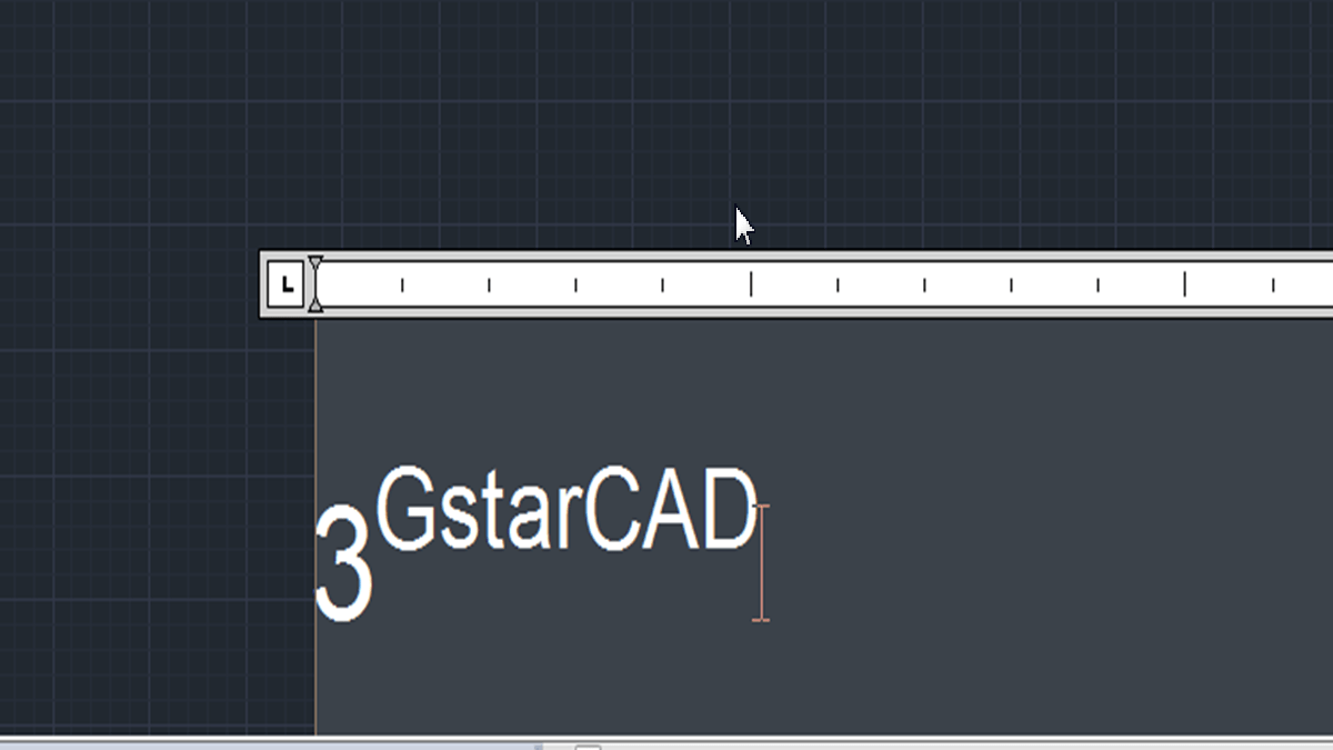 How to write superscript and subscripts in CAD?