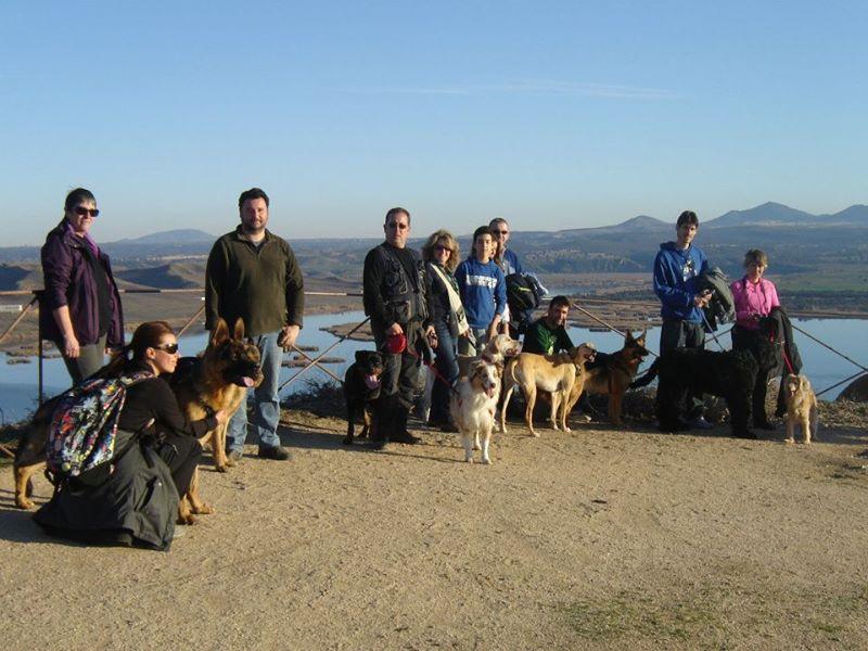 Las barrancas (Burujón). Fuente de la Imagen: FB Rutas con perro en Toledo.