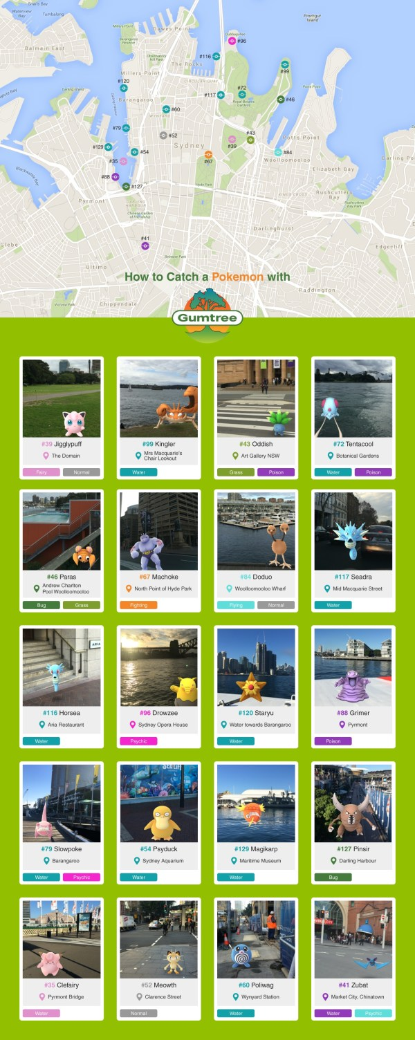 How to catch a Pokémon, Pokémon Go Map & Services - Gumtree