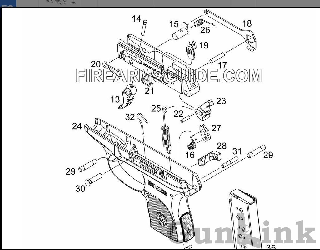 Sten Gun Printable Schematics