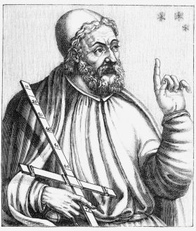Greek astrologer Ptolemy