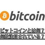 ビットコイン(Bitcoin)て何?電子マネーとは何が違う?買い方は?【初心者でもわかる仮想通貨事始め】
