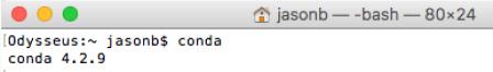 Anaconda Miniconda Installation on Mac
