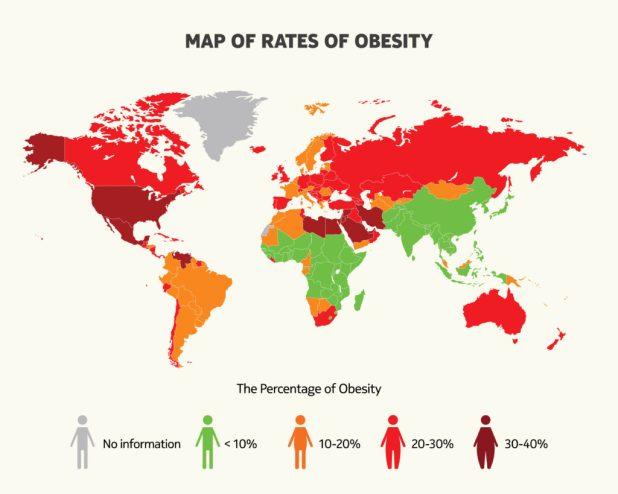 obezite oranları