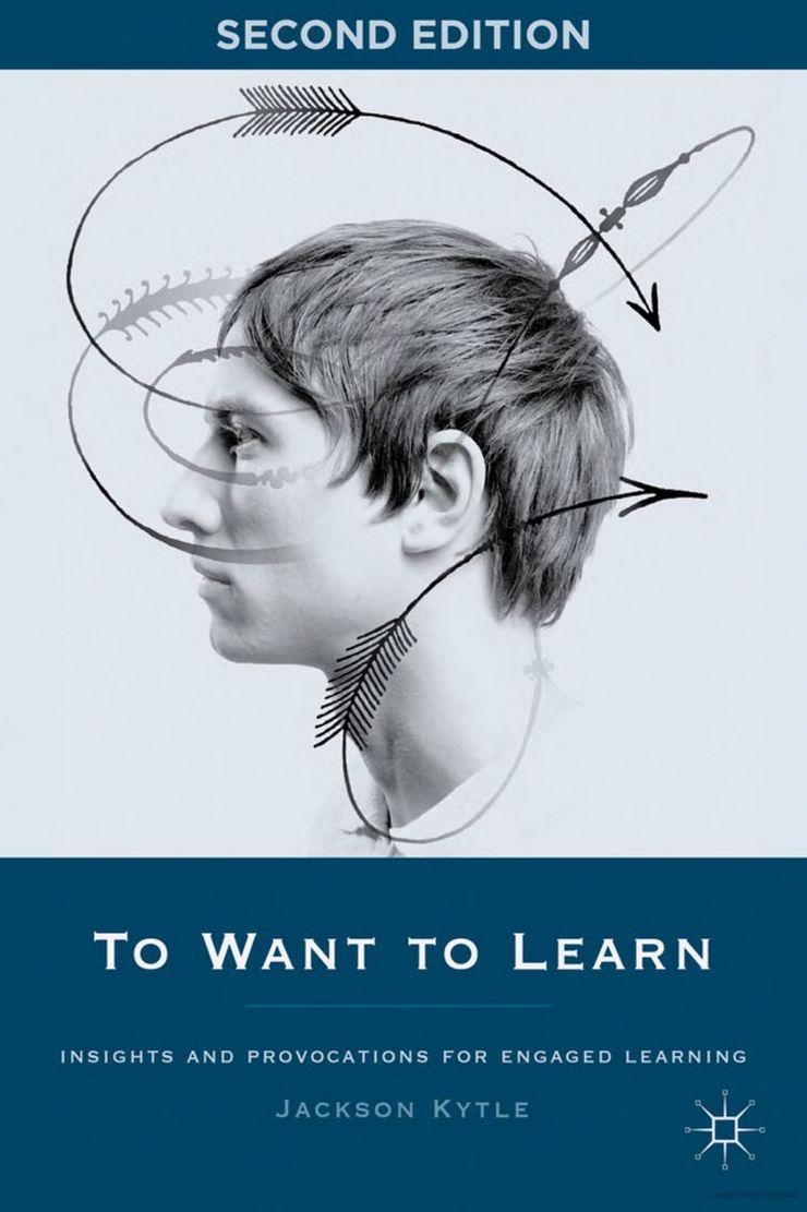 """Couverture du livre """"To Want to Learn"""" de Jackson Kytle"""