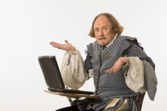 Shakespeare at a computer