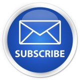 "Email Subscription Picture with Envelope inside a circle and the word ""subscribe"""