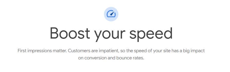 SEO boost speed