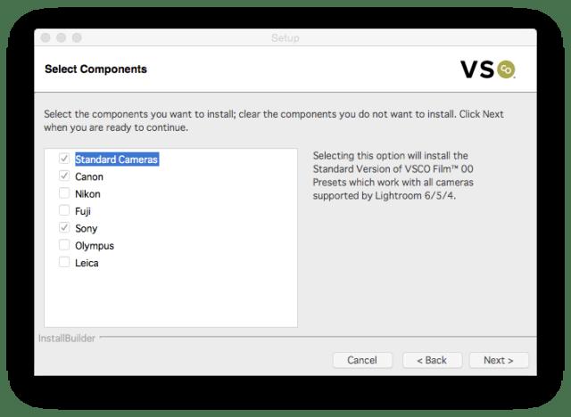 VSCO-installer-check