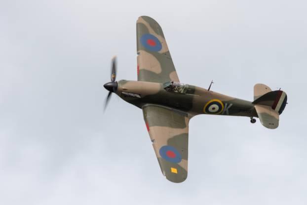 Hawker Hurricane à la Ferté-Alais 2017